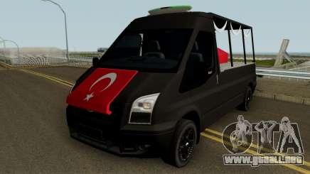 El Entierro De Los Mártires De La Herramienta De Ford Transit para GTA San Andreas