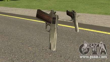 New Pistols HQ para GTA San Andreas