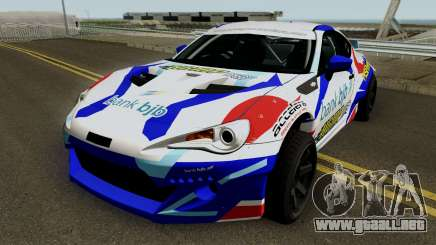 Subaru BR2Z HGMP Racing Team para GTA San Andreas