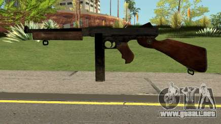 COD-WW2 - Thomspon M1 para GTA San Andreas