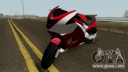 Shitzu Hakuchou Drag GTA V HQ para GTA San Andreas