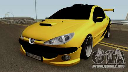 Peugeot 206 Sandogdar Full Sport Iran para GTA San Andreas