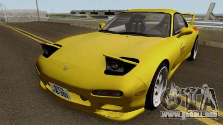 Mazda RX7 (FD3S) Initial D Movie Keisuke para GTA San Andreas