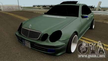 Mercedes Benz E500 Fullsport para GTA San Andreas