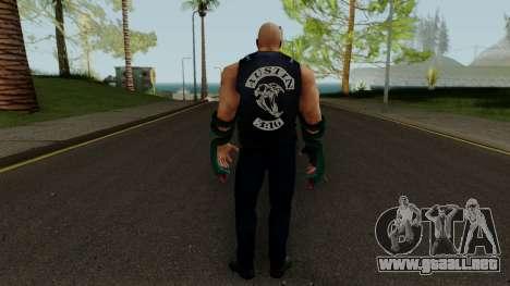Stone Cold (Texas Rattlesnake) from WWE Immortal para GTA San Andreas tercera pantalla