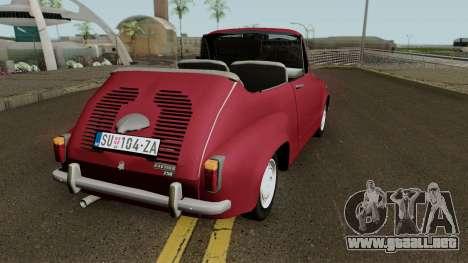 Zastava 750 Cabrio para GTA San Andreas