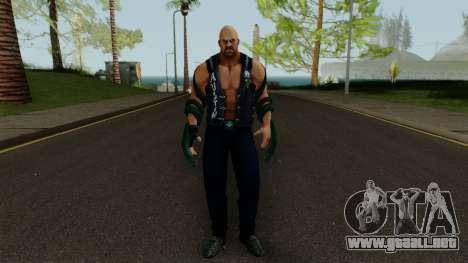 Stone Cold (Texas Rattlesnake) from WWE Immortal para GTA San Andreas segunda pantalla