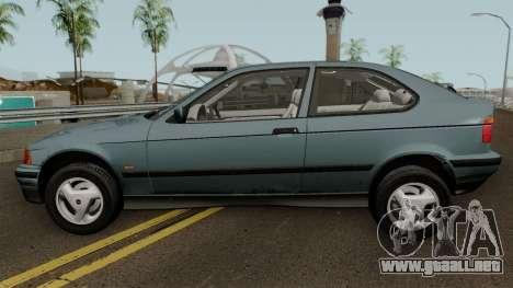 BMW 3-Series e36 Compact 318ti 1995 (US-Spec) para GTA San Andreas left