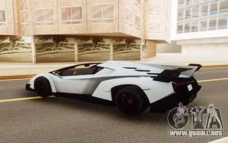 Lamborghini Veneno Roadster 2016 para GTA San Andreas