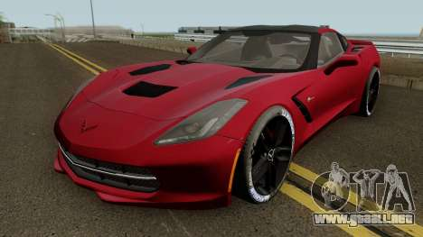 Chevrolet Corvette Z51 C7 2014 para GTA San Andreas