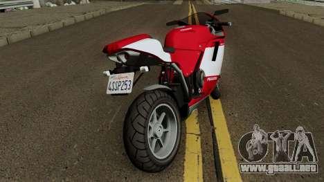 Bati 801 Stock con Texturas Arregladas para GTA San Andreas