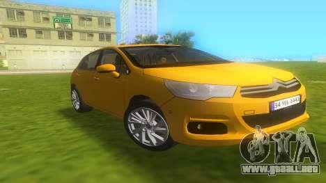 Citroen C4 2012 para GTA Vice City