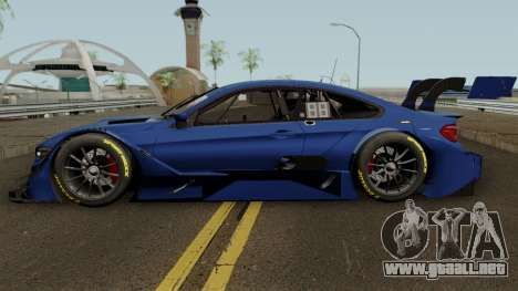 BMW M4 Driving Experience Racing 2017 para GTA San Andreas