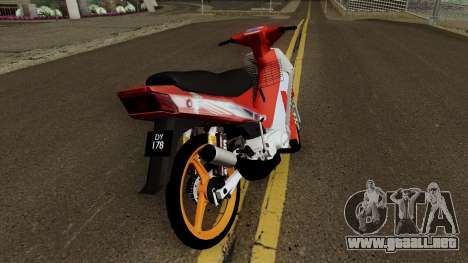 Yamaha SS110 Fiz para la visión correcta GTA San Andreas