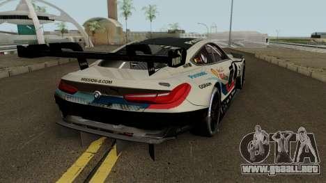 BMW M8 GTE 2018 para GTA San Andreas