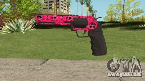 GTA Online Heavy Revolver Mk.2 Pink Skull para GTA San Andreas