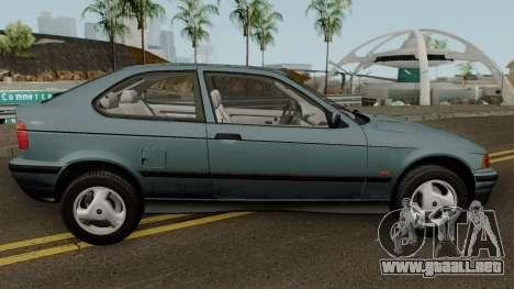 BMW 3-Series e36 Compact 318ti 1995 (US-Spec) para GTA San Andreas vista hacia atrás