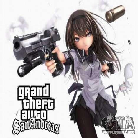 Nuevas pantallas de carga de anime para GTA San Andreas