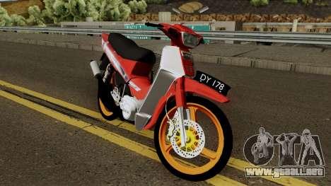 Yamaha SS110 Fiz para visión interna GTA San Andreas