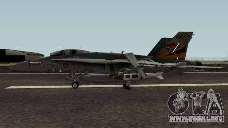 RAAF 2OCU FA-18A 1942-2012 para GTA San Andreas