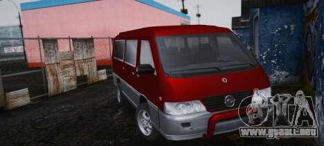 SsangYong Istana para GTA San Andreas