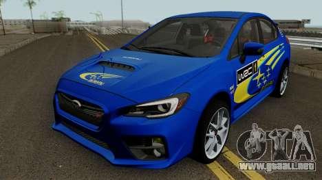 Subaru WRX STI 2016 para GTA San Andreas interior