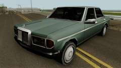 Admiral (Mercedes-Benz 280E Style) Low Poly para GTA San Andreas