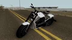 Western Motorcycle Nightblade GTA V HQ para GTA San Andreas