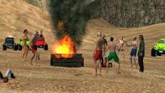 Fiesta en la playa para GTA San Andreas