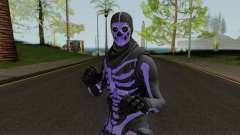 Purple Skull Trooper Style Fortnite para GTA San Andreas
