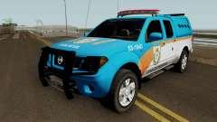 Nissan Frontier PMERJ BPVE 2013 para GTA San Andreas
