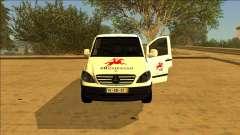 Mercedes Vito CTT - Portuguese Mail Van para GTA San Andreas