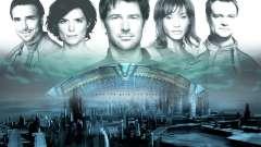 La pantalla de arranque de Stargate: Atlantis para GTA San Andreas
