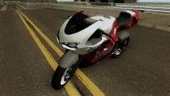 Bati Custom from GTA 4 EFLC para GTA San Andreas