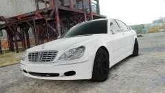 Mercedes-Benz S600 White para GTA 4