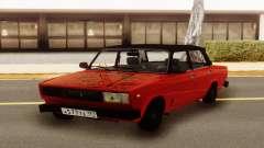 Rojo VAZ 2107 Hobo para GTA San Andreas
