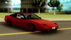 Nissan 240SX Red para GTA San Andreas