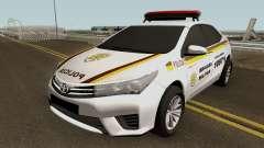 Toyota Corolla Brazilian Police (Patamo) para GTA San Andreas