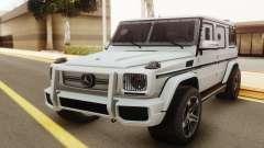 Mercedes-Benz G500 Rida para GTA San Andreas