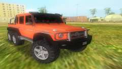 Mercedes-Benz G63 AMG 6X6 para GTA Vice City