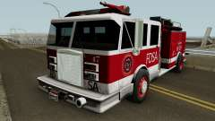 Firetruck Remastered para GTA San Andreas