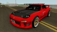 Mazda RX-7 FD3s Touge Warrior Red Brother