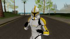 Clone Trooper Yellow (Star Wars The Clone Wars) para GTA San Andreas