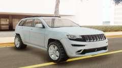 Jeep Grand Cherokee SRT 2014 White para GTA San Andreas