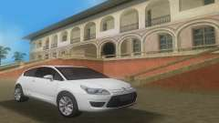 2010 Citroen C4 VTS para GTA Vice City
