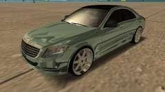 Mersedes-Benz S63 W222 Bulkin Amoral
