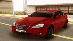 Lexus IS 250 V6 para GTA San Andreas