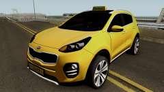 Kia Sportage 2017 Taxi Maku para GTA San Andreas