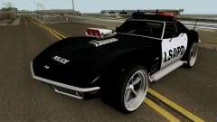 Chevrolet Corvette C3 Stingray Police LSPD