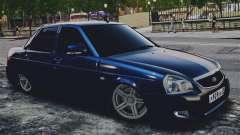 Lada Priora Blue para GTA 4